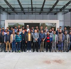 孟加拉國客商組團訪問天鵝集團